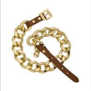 Michael Kors link wrap bracelet